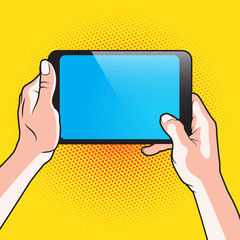 Hand and Touch Tablet