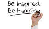 Fototapety Be Inspired Be Inspiring
