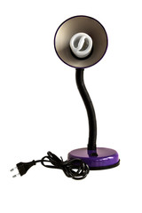Table violet lamp
