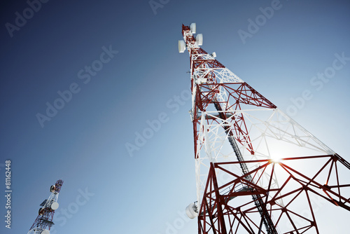 Telecommunications tower - 81162448