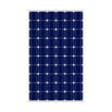 Photovoltaic module, 164x99, true to scale