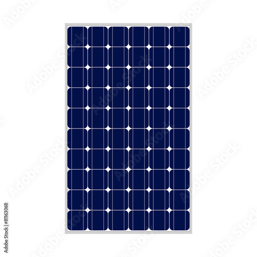 Photovoltaic module, 164x99, true to scale - 81163068