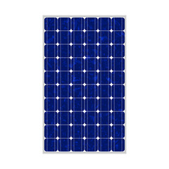 Photovoltaic module, polycrystalline, 164x99, true to scale