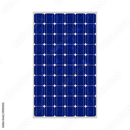 Photovoltaic module, polycrystalline, 164x99, true to scale - 81163836