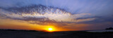 Sunset over Madagascar landscape - panoramic view - 81164657