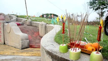 Ancestor Worshipping and Sacrificial offering in Qingming