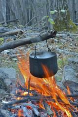 Bonfire and pot 19