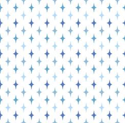 Seamless pattern of stars