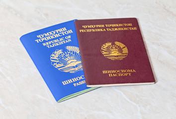 Tajikistan passports