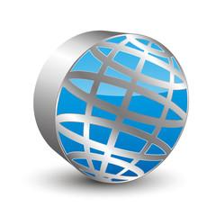 sphere 3D icon