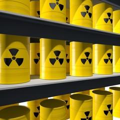 Opslag van radioactief materiaal