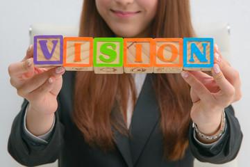 VISION ビジネス 積み木