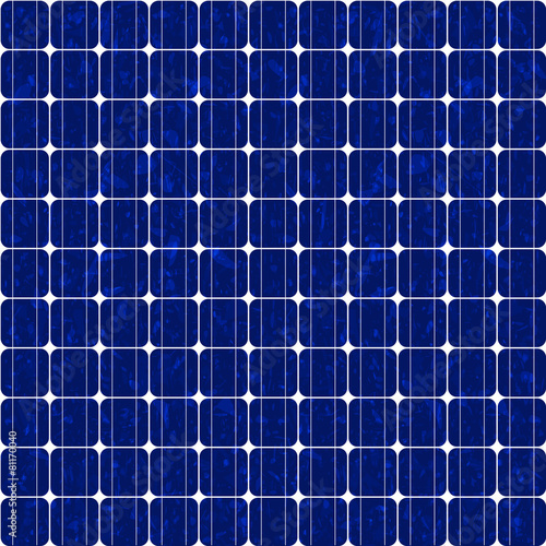 Solar panel, polycrystalline - seamless tileable