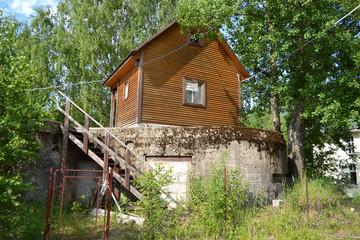 Military bunker.