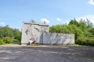 Memorial of russian soldiers.