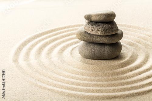 Foto op Canvas Zen zen stones