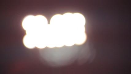 Stadium Lights Unfocused