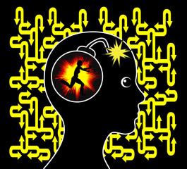 Woman with Panic Disorder