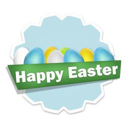 Happy Easter Badge