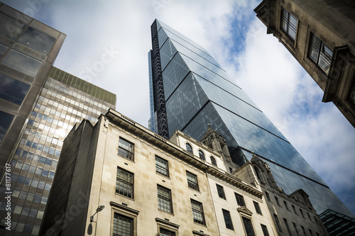 Fotografiet Leadenhall Street London