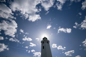 Sky blue Lighthouse