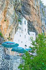 The white church in rock