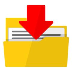 Icono descargar archivo