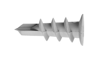 Dowel pin on white background