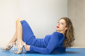 Blu sky girl