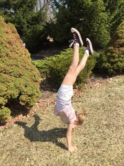 Handstands In The Park