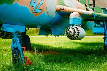 Su-17 is a Soviet variable-sweep wing fighter-bomber developed f