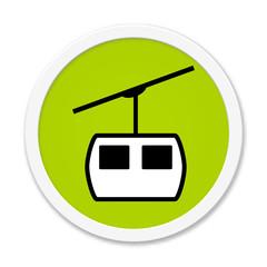 Runder grüner Button: Seilbahn