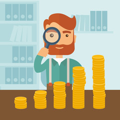 Growing business in financial aspects.