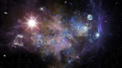 space landscape