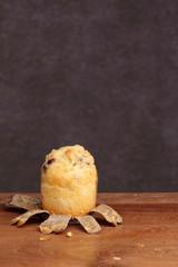 muffin bakery on teak