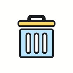 Dustbin icon.