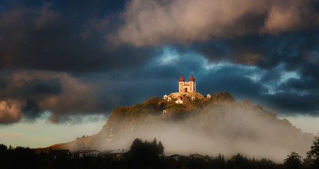 Calvary in Banska Stiavnica, Slovakia
