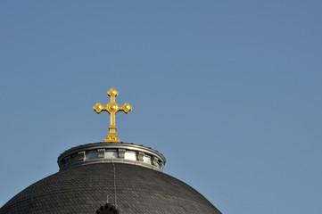 Kirchturmspitze Kreuz #0487