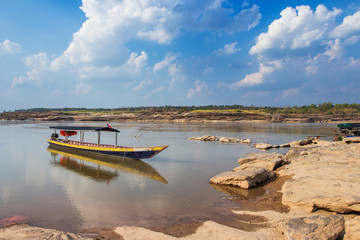 Boat at Sam Phan Bok in Thailand