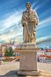 Leinwanddruck Bild - Monument to Vasco da Gama in Lisbon, Portugal