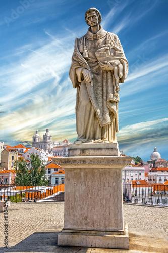Leinwanddruck Bild Monument to Vasco da Gama in Lisbon, Portugal