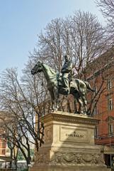 statue Garibaldi, Bologna, Italy