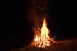 feuer, brennen, lagerfeuer