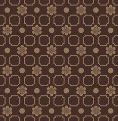 Delicate elegant floral seamless pattern in classic style