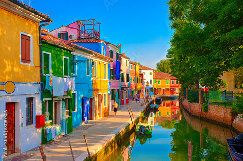 Burano, Italien - 81187806