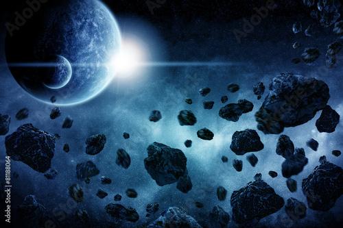 Planet explosion apocalypse - 81188064