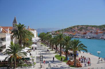 Venetian old town near Adriatic sea. Trogir, Croatia