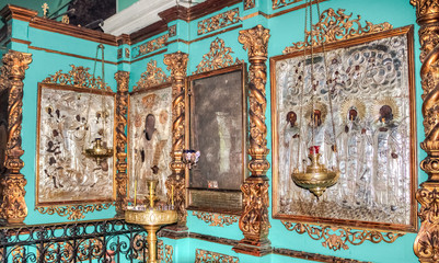 Ancient icons in the Russian Orthodox Church