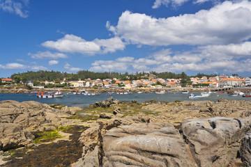 Arousa Island town