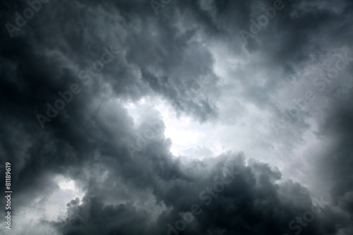 Staande foto Hemel Dramatic Clouds Background
